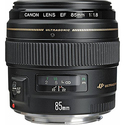 Canon EF 85mm f/1.8 USM Medium Telephoto Lens
