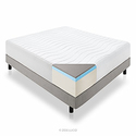 LUCID 14 Inch Plush Memory Foam Mattress