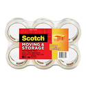 Scotch Long Lasting Storage Packaging Tape 6 Rolls