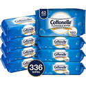 Cottonelle FreshCare Flushable Wipes for Adults 336 Wet Wipes per Pack