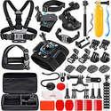 SmilePowo Sports Action Camera Accessory Kit for GoPro Hero 7,6,5 Black