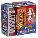 Hershey Candy Bar Assorted Variety Box Full Size*18 Count