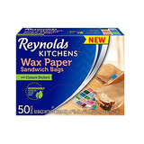 Reynolds Kitchens Wax Paper Sandwich Bags 50ct