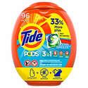 96-Count Tide Pods Liquid Laundry Detergent Pacs (Multiple Flavors)