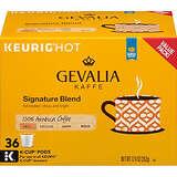 Gevalia 招牌中度烘焙咖啡 K-cup胶囊咖啡 36粒