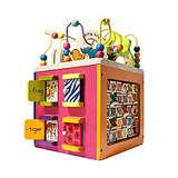 B. toys by Battat 儿童五面体益智学习玩具