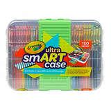 Crayola Smart Case Next Generation, Art Set for Kids, Color Updates, Gift, 150Piece