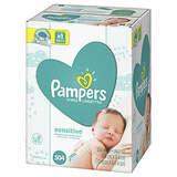 Pampers Sensitive 宝宝湿巾 504 片,无香型,敏感宝宝也适用