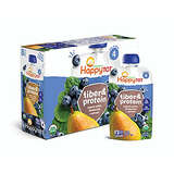 Happy Tot Organic Stage Pear Blueberry and Spinach 8 counts