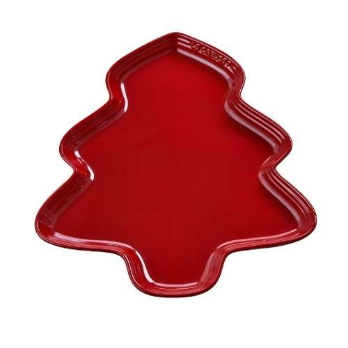 红色圣诞树烘焙烤盘