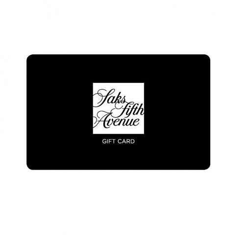 Saks Fifth Avenue 电子卡