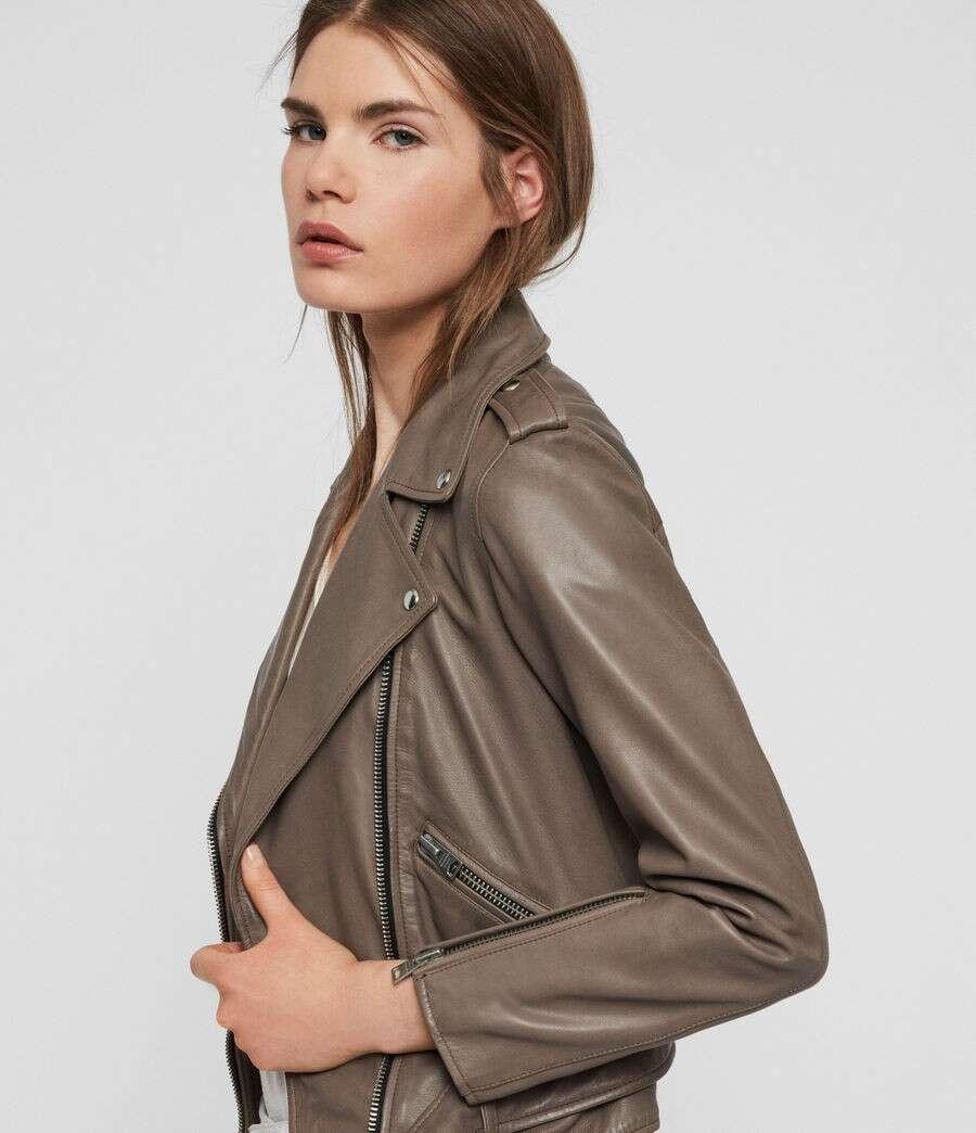 BALFERN 皮革外套