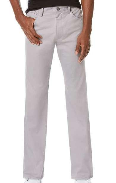棉缎直筒裤