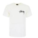 Stussy 白色基础款 LOGO 短袖