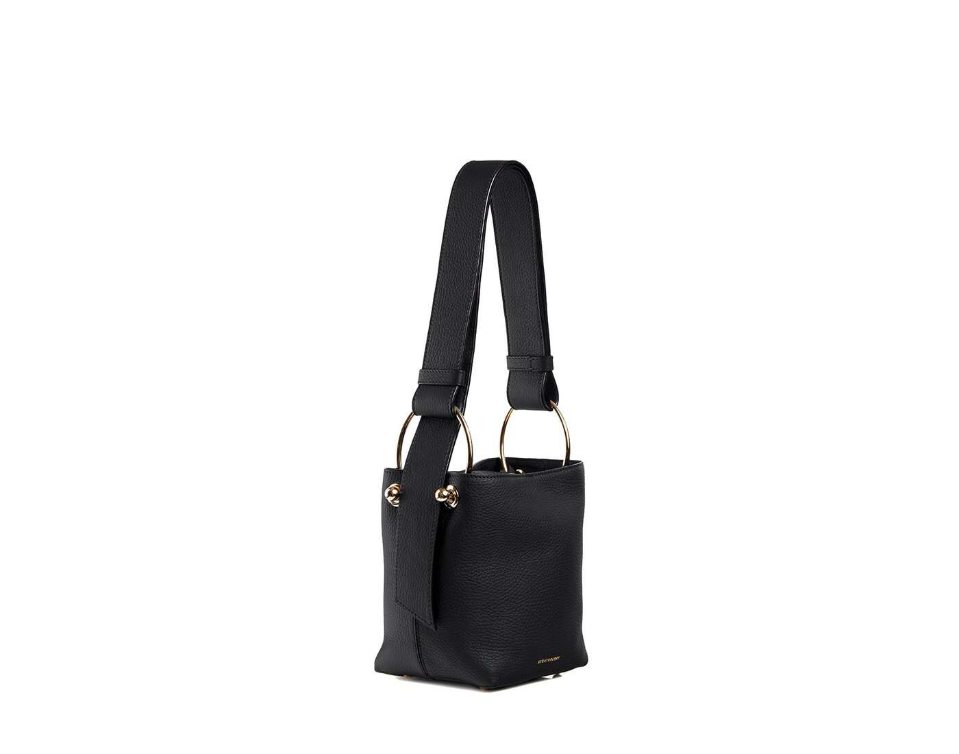 Lana Nano Bucket Bag - black