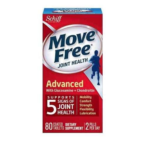 Move Free 维骨力(红盒) 80粒