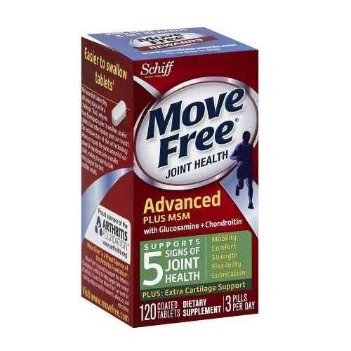 Move Free 维骨力(绿盒) 120粒