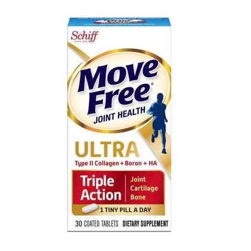 Move Free 维骨力UCII 胶原蛋白膳食补充剂 30粒