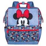 Disney 迪士尼 米妮牛仔蓝双肩背包