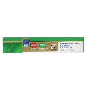麦卢卡&蜂胶牙膏 含麦卢卡油