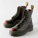 Dr. Martens Jadon 系列 厚底8孔马丁靴