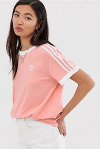 adidas Originals adicolor three stripe t-shirt