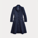 Ralph Lauren 拉夫劳伦 Wool-Blend Princess Coat 羊毛混纺大童大衣