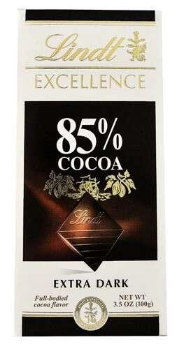 Lindt 瑞士莲大排黑巧 85%