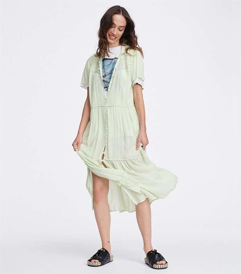 Libby 短袖连衣裙