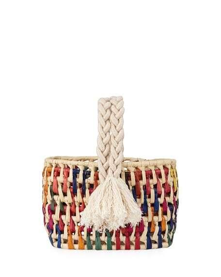Nannacay - Cotio Kali Straw Tote Bag