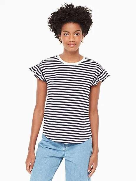 broome street 条纹T恤