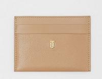 Monogram Motif Leather Card Case