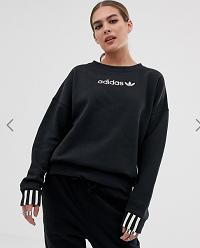 adidas Originals Coeeze fleece sweatshirt