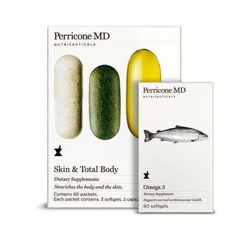 肌肤全身调理+鱼油