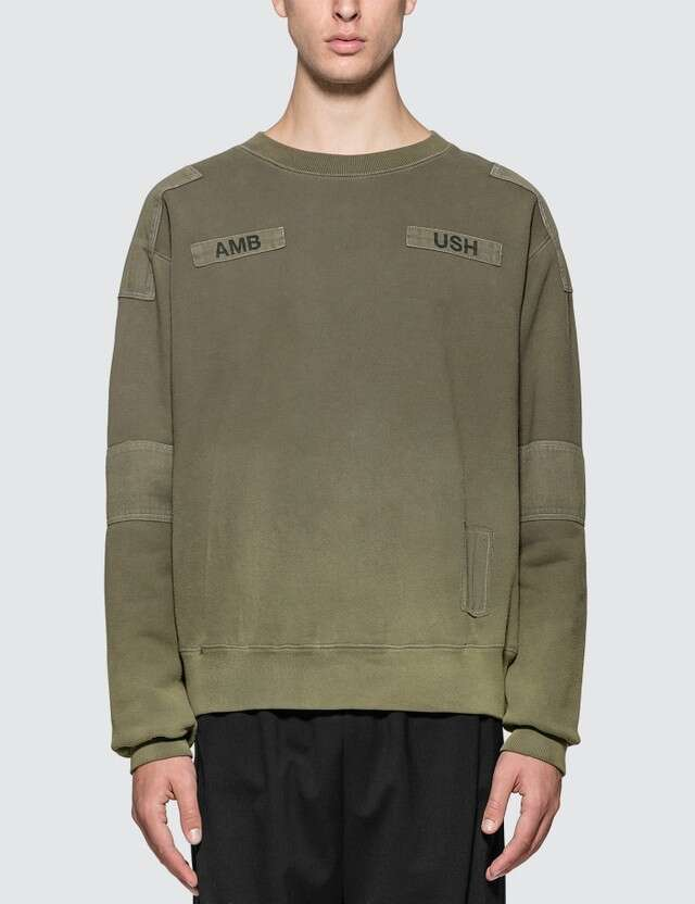 AMBUSH Bleach Patchwork Sweatshirt
