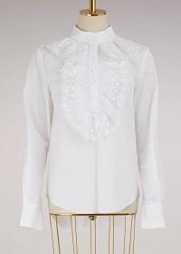 Chloé Poplin blouse