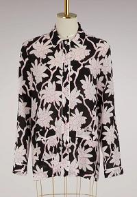Valentino Printed pyjama blouse