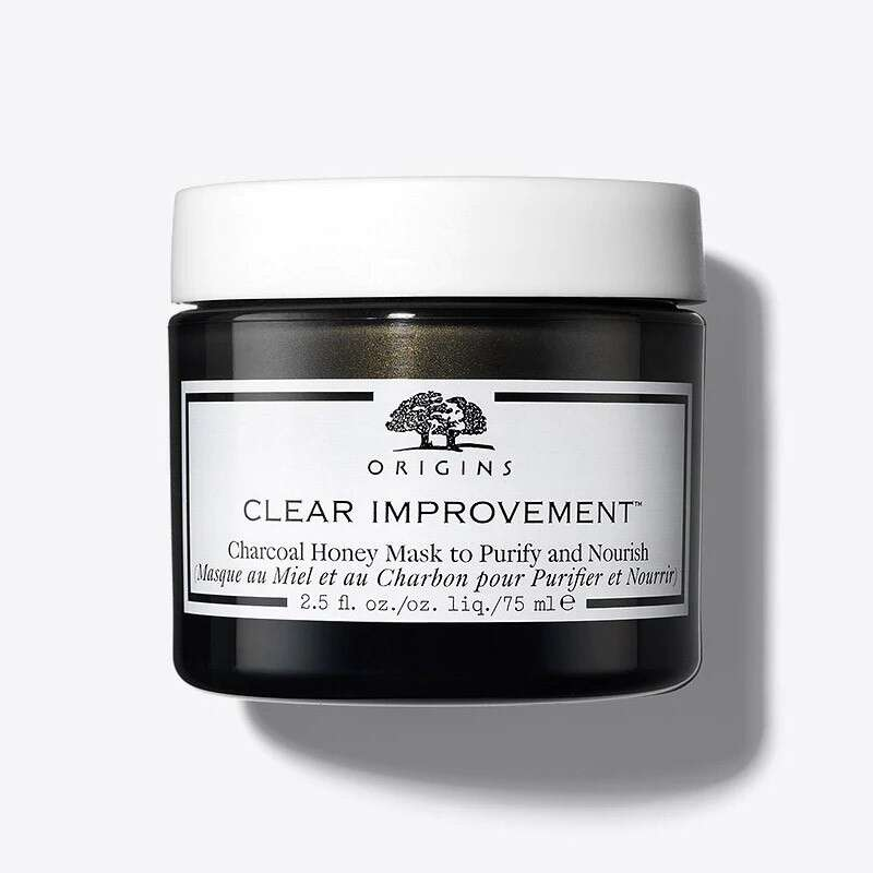 Charcoal Honey Mask To Purify & Nourish