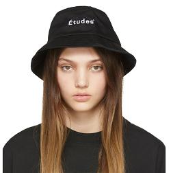 Black Training Bucket Hat