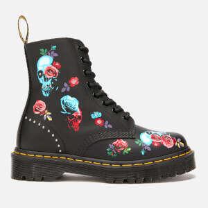 玫瑰马丁靴