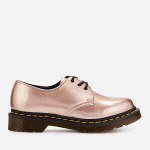 金属色马丁靴