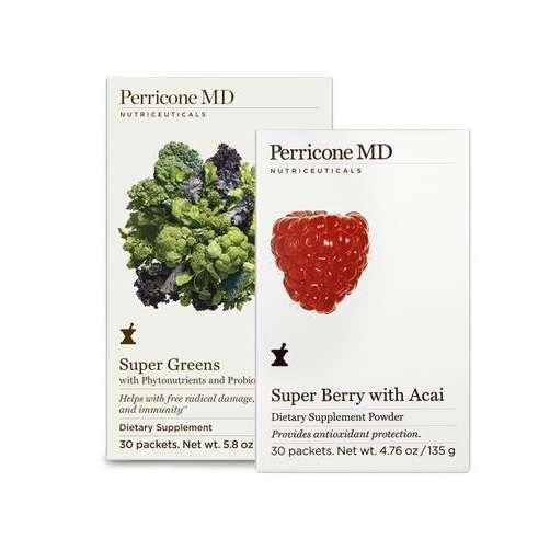 超级绿蔬补充剂+巴西莓粉套装
