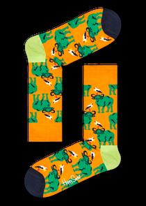 水牛图案袜子