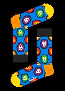 狮子图案袜子