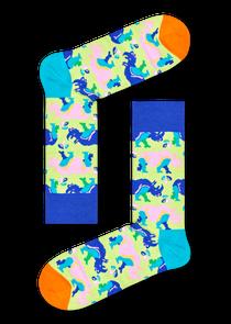 犀牛图案袜子