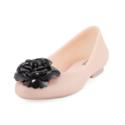 Melissa 粉色果冻芭蕾平底鞋