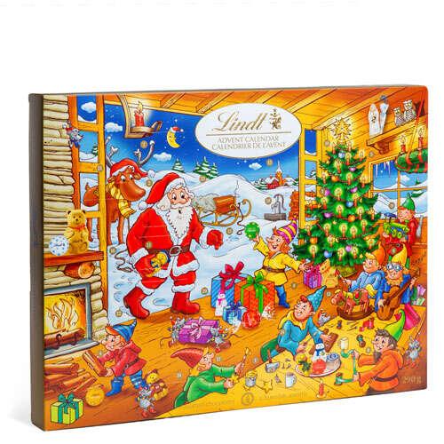 经典圣诞老人日历