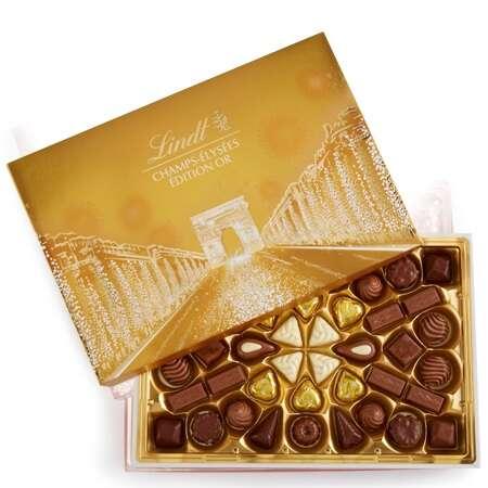 金色巧克力礼盒