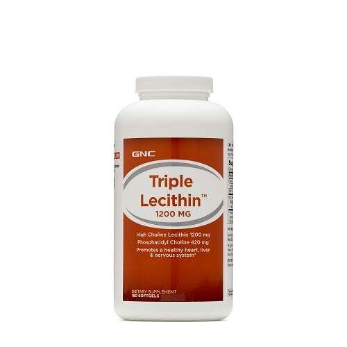 GNC TRIPLE LECITHIN™ 1200 MG