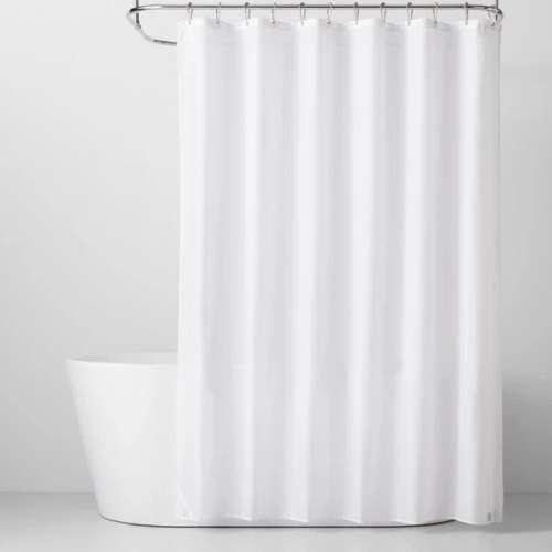浴帘衬里白色